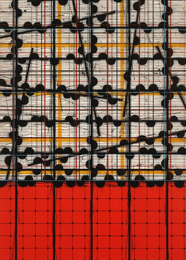 2009-2012CASSIOPEIA acrylic on canvas 214 x 153 cm