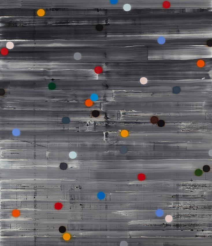 2013 THETAS acrylic and oil on canvas 214 x183 cm