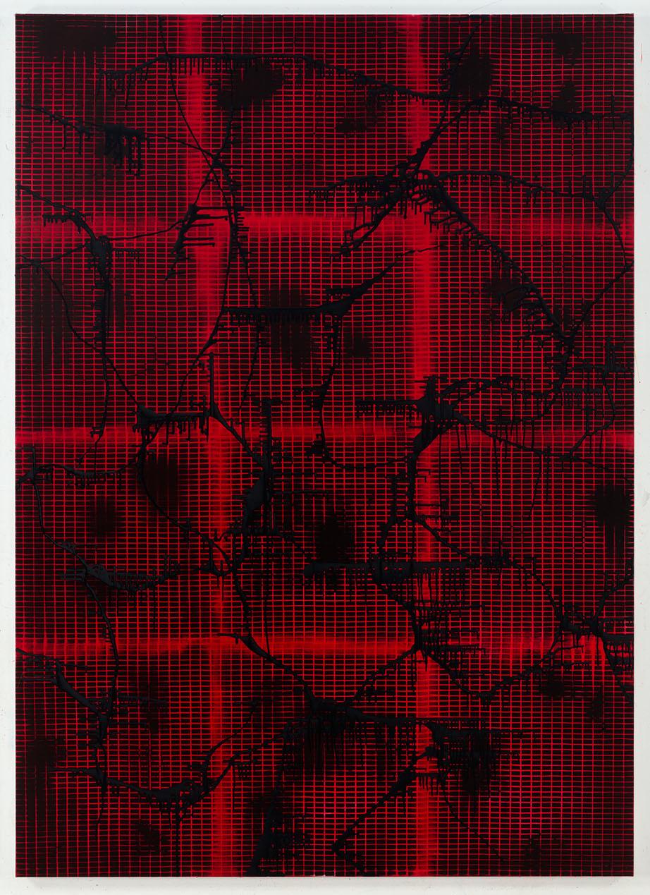 2016-STARDUST-acrylic-and-oil-on-canvas-214-x-153-cm-1
