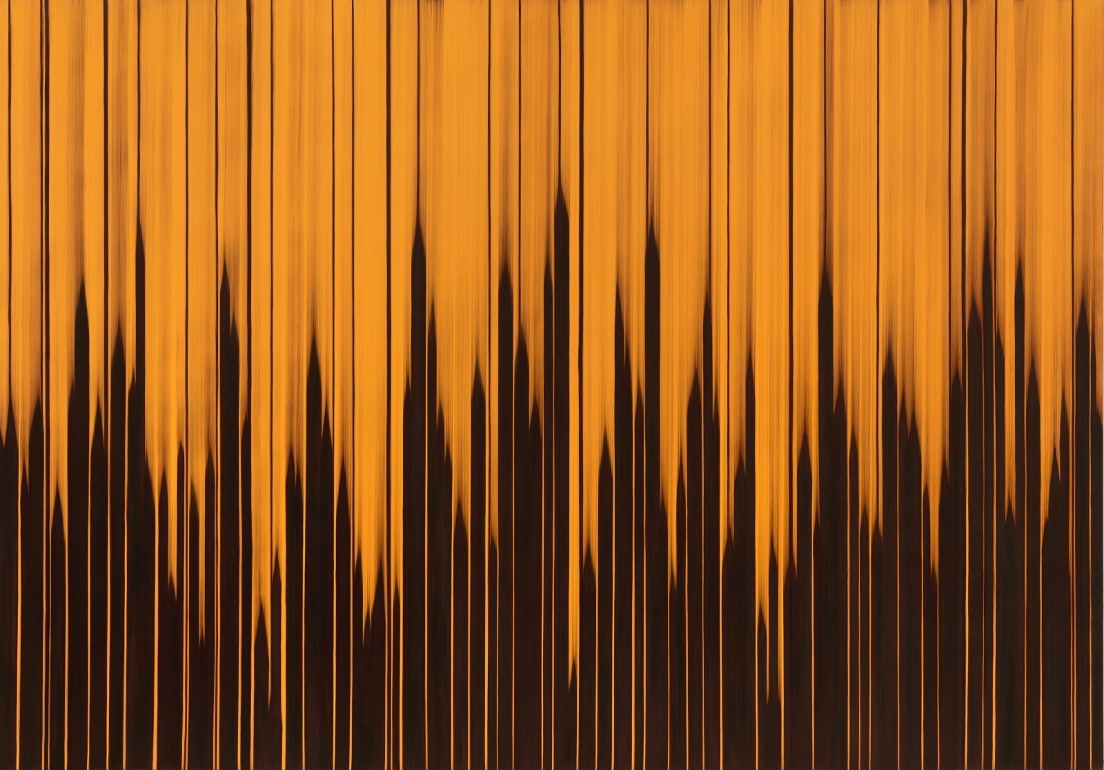 Sonic Dub, 2021, oil on canvas, 214x305cm