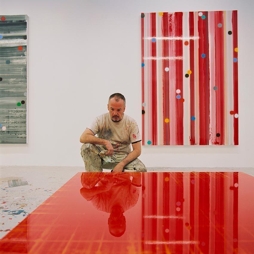 Mark Francis in Studio, 2014